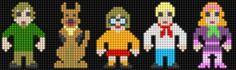 Scooby-Doo - Perler Beads (Lair of the Dork Horde: Lite Brite Brutes)