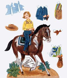 and The Lone Ranger! Pinecone Crafts Kids, Pine Cone Crafts, Crafts For Kids, Making Clothes From Old Clothes, Clothes Crafts, Paper Toys, Paper Crafts, Paper Doll Template, Paper Dolls Clothing
