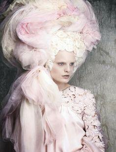 Vogue Germany April 2014 | Chanel Haute Couture Spring 2014 by Luigi+Iango / Via Elsa Chan