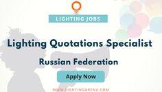 Lighting Quotations Specialist - Russian Federation https://www.lightingarena.com/jobs/lighting-quotations-specialist/?utm_content=buffere68e5&utm_medium=social&utm_source=pinterest.com&utm_campaign=buffer #jobs #hiring #jobsearch #lightingarenajobs #jobseeker #lighting