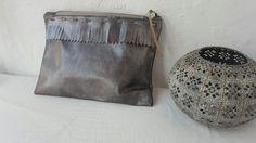 Wildstar Summer Fringed Clutch Bag silver