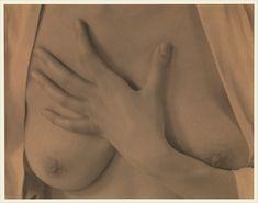 Alfred Stieglitz - Georgia O'Keeffe  Hand and Breasts [1919]
