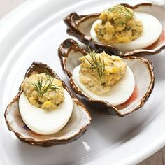 Creole Deviled Eggs - Louisiana Cookin