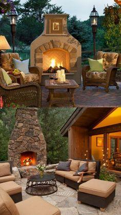 Find This Pin And More On Outdoor Fireplace.