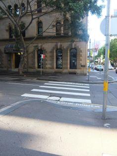 barrack st zebra crossing, i like this shot