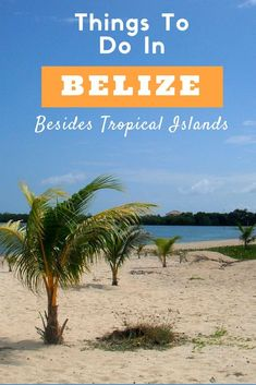True, the beaches in Belize are beautiful. But there are so many more things to do in Belize besides hanging out on tropical islands.