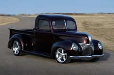 Granddad's 1941 Ford Truck Might Embarrass Your Muscle Car..Re-pin...Brought to you by #CarInsurance at #HouseofInsurance in Eugene, Oregon
