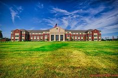 Conway High School, Conway, Arkansas Love that someone is putting style back into building. imageryred.com