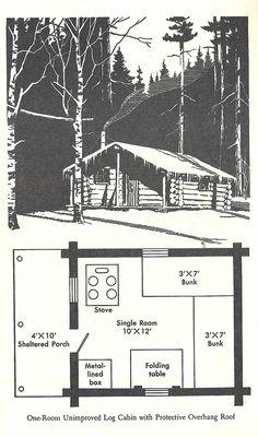wilderness cabin 8 | Noah Bolton | Flickr