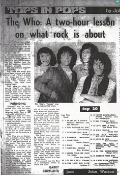 [Review] The Who and Trapeze featuring Glenn Hughes @glenn_hughes ~ Wolverhampton, August 1970