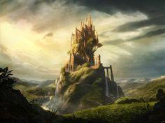 Hearted Castle by camilkuo.deviantart.com on @deviantART