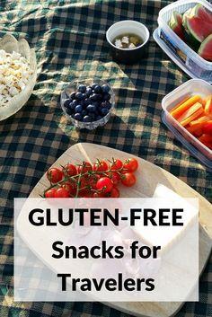 Gluten-free snacks to bring for celiac disease travelers