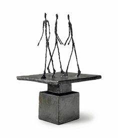 Alberto Giacometti Trois hommes qui marchent I