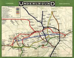 Tube Map from 1908