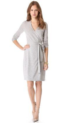So feminine  -  wrap dress