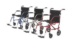 Ultralight Transport Chair from PRO2Medical.com weigh less than 15 lbs (6 kg). Transport Chair Back folds down for easy storage and transport.  Ultralight Transport Chairs | Medline – PRO2 Medical - Free Shipping!