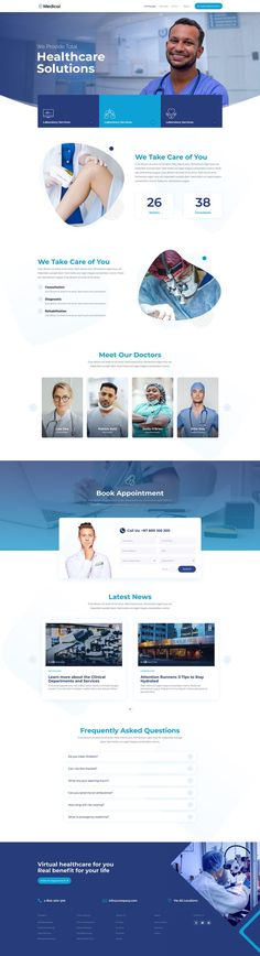 The Medical Layout Pack for Divi Pixel has been crafted to serve medical services websites. This layout pack comes with 19 professionally designed pages and a beautiful icon pack. Amazing Websites, Brand Assets, Main Theme, Bold Fonts, Web Design Trends, Icon Pack, Gradient Color, Background Images, Icon Design