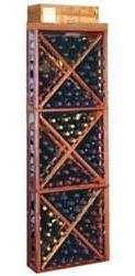 Wine Cellar Designer Series 132 Bottle Floor Wine Rack Finish: Premium Redwood Mahogany Stain with Elite Lacquer Wine Bottle Rack, Wine Rack, Wine Cellar Innovations, Wine Cellar Basement, Wine Vineyards, Mahogany Stain, Wine Refrigerator, Rack Design, Italian Wine