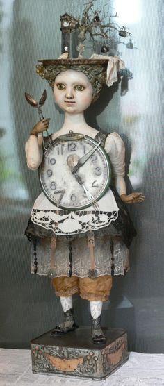 Gulya Alexeev - master of art dolls