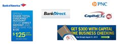 Best Bank Bonuses, Offers, And Promotions For 2013