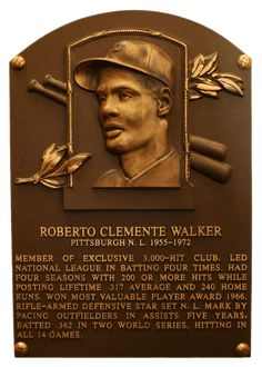 Roberto Clemente won four NL batting titles and also possessed one of the strongest outfield arms in baseball history. Description from rustywilly.com. I searched for this on bing.com/images