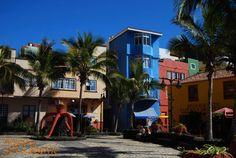 Placyk przy plaży w #PuertodeTazacorte #LaPalma