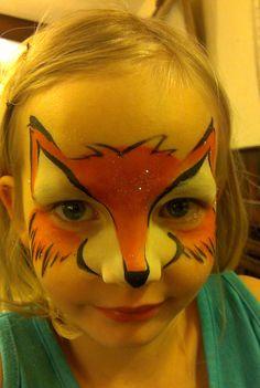 Fox-Animal by Jacana Girl Face Painting, Face Painting Designs, Painting For Kids, Body Painting, Fox Face Paint, Castle Painting, Fox Makeup, Fox Costume, Fox Kids