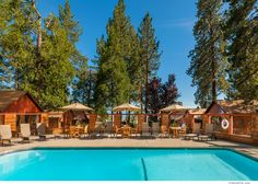 Can't wait for summer! Heated Pool, Cozy Cottage, Lake View, Lake Tahoe, Wedding Vendors, Acre, Rustic, Mansions, House Styles