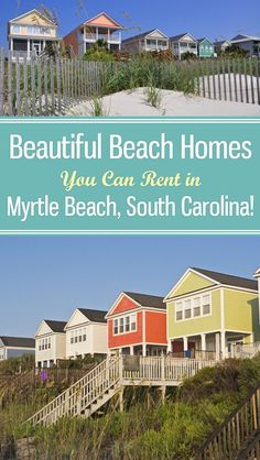 Beach homes in Myrtle Beach, South Carolina have always been the popular vacation and travel choice for comfort, convenience and overall familial charm. Make yourself at home on your next family beach vacation with kids with a beautiful oceanfront rental. Vacation Places, Vacation Trips, Dream Vacations, Vacation Spots, Places To Travel, Vacation Ideas, Beach Vacations, Vacation Destinations, Myrtle Beach Vacation Rentals