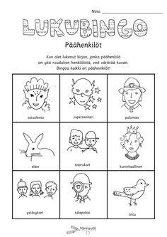 Reading Challenge, Bingo, Books To Read, Names, Teaching, School, Character, Manualidades, Education