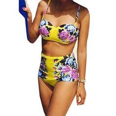 $9.59 (Buy here: https://alitems.com/g/1e8d114494ebda23ff8b16525dc3e8/?i=5&ulp=https%3A%2F%2Fwww.aliexpress.com%2Fitem%2FVintage-Retro-Print-Floral-High-Waist-Swimsuit-Yellow-Padded-Underwire-Push-Up-Bikini-Sexy-Brazilian-Biquines%2F32659464205.html ) Vintage Retro Print Floral High Waist Swimsuit Yellow Padded Underwire Push Up Bikini Sexy Brazilian Biquines Maillot De Bain for just $9.59