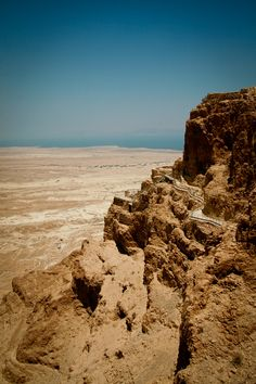 Masada, Israel. Amazing. Can't stop thinking about it since finishing The Dovekeepers.