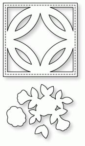 Papertrey Ink - Quilted: Spring Die  $13   ******GOES WITH QUILTED SPRING STAMPS***