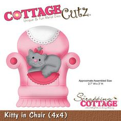 Kitty in Chair