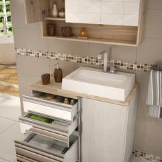 Uma boa #cuba faz a #diferença no seu #banheiro. Principalmente esta que é incrível para a #decoração do ambiente! #Prod146589