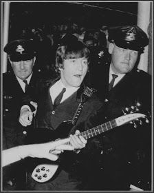 Beatle John Lennon snapped by a fan. (Vintage Everyday: These 60 Awesome Candid Snapshots of The Beatles Taken by Their Fans During the 1960s You Might Have Never Seen Before)