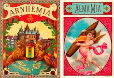 Dark Roasted Blend: The Golden Age of Cigar Box Art