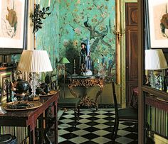 Chinoiserie done right.
