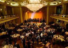 The Grand Ballroom At Hyatt Bellevue Philadelphia Centerpieces Wedding