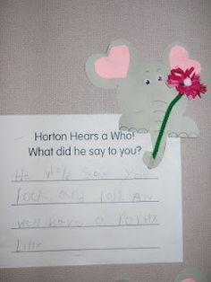 Mrs. T's First Grade Class: Dr. Seuss - Horton Hears a Who.