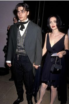 Celebrity couples from the past: Johnny+Winona, 1991