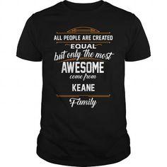 KEANE Name tee Shirts