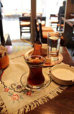 Türk kahvesi ve çayı...