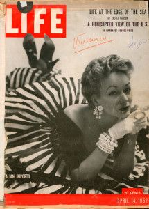 """Jole Veneziani won the cover of """"Life"""" in 1950."""