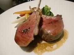 レストラン リューズ - 仔羊背肉のロースト