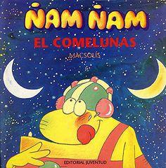 Lo que más le gustaba a Ñam-Ñma era comerse la luna, pero su banquete se acababa pronto. Pero una noche encuentra una luna enorme, y descubre que si espera 14 días de nuevo la vuelve a ver y comer!!