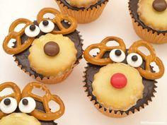 Cupcakes para Navidad con Rudolph y sus renos - MisThermorecetas