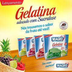 Gelatina com Sucralose
