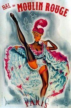 Vintage Moulin Rouge