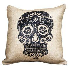 Calavera Pillow